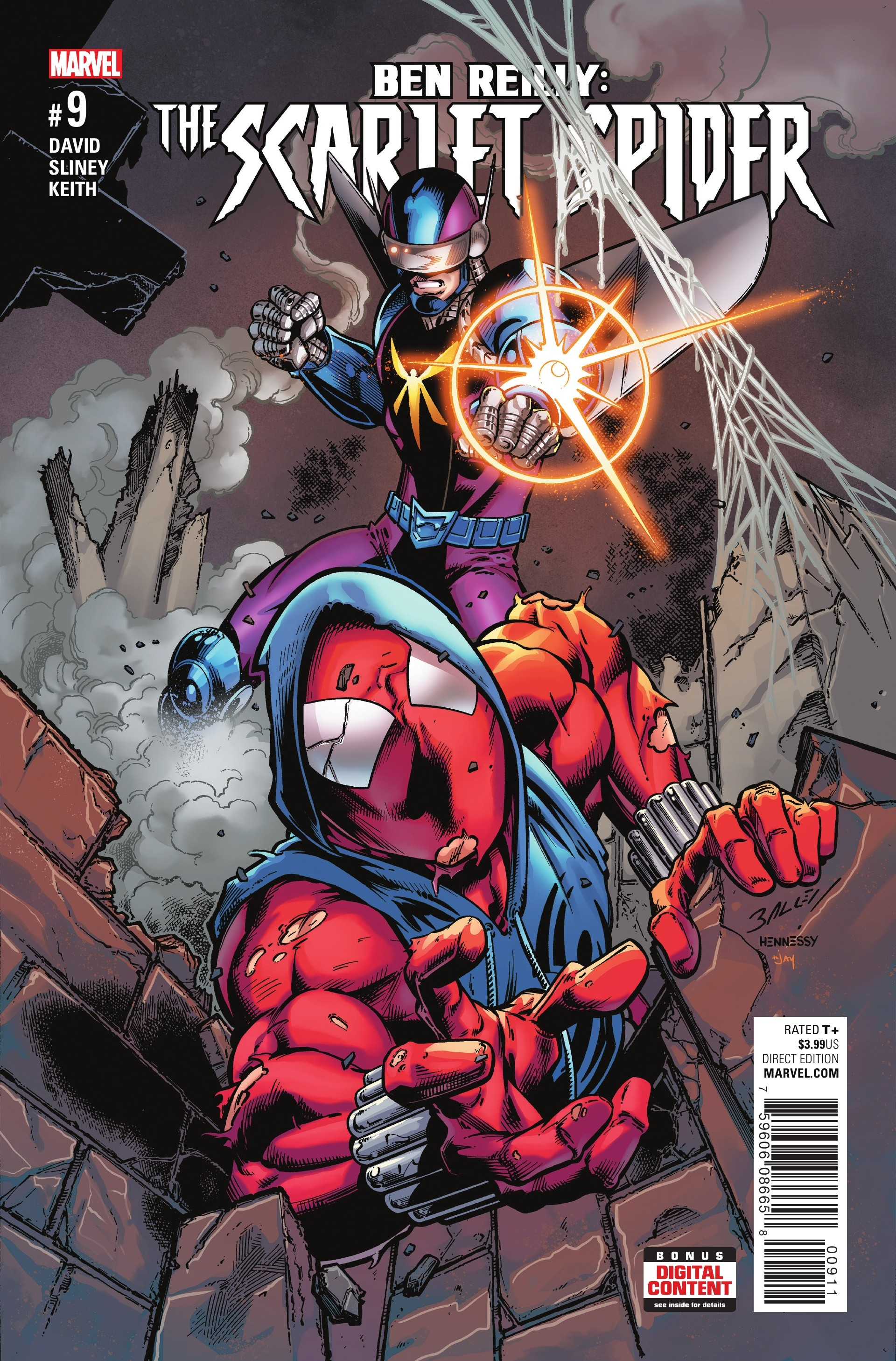 preview ben reilly the scarlet spider 9 graphic policy