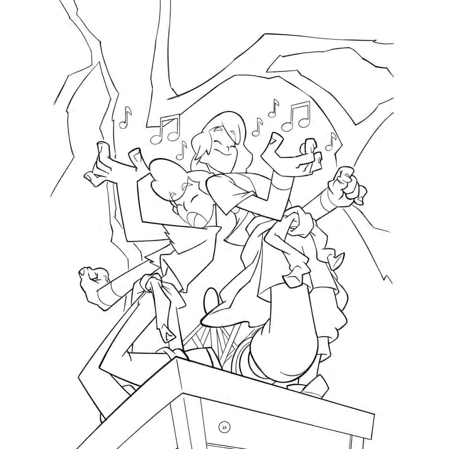 BILL & TED 3 Coloring Book Pages are Totally Bodacious - Nerdist | 1500x1500