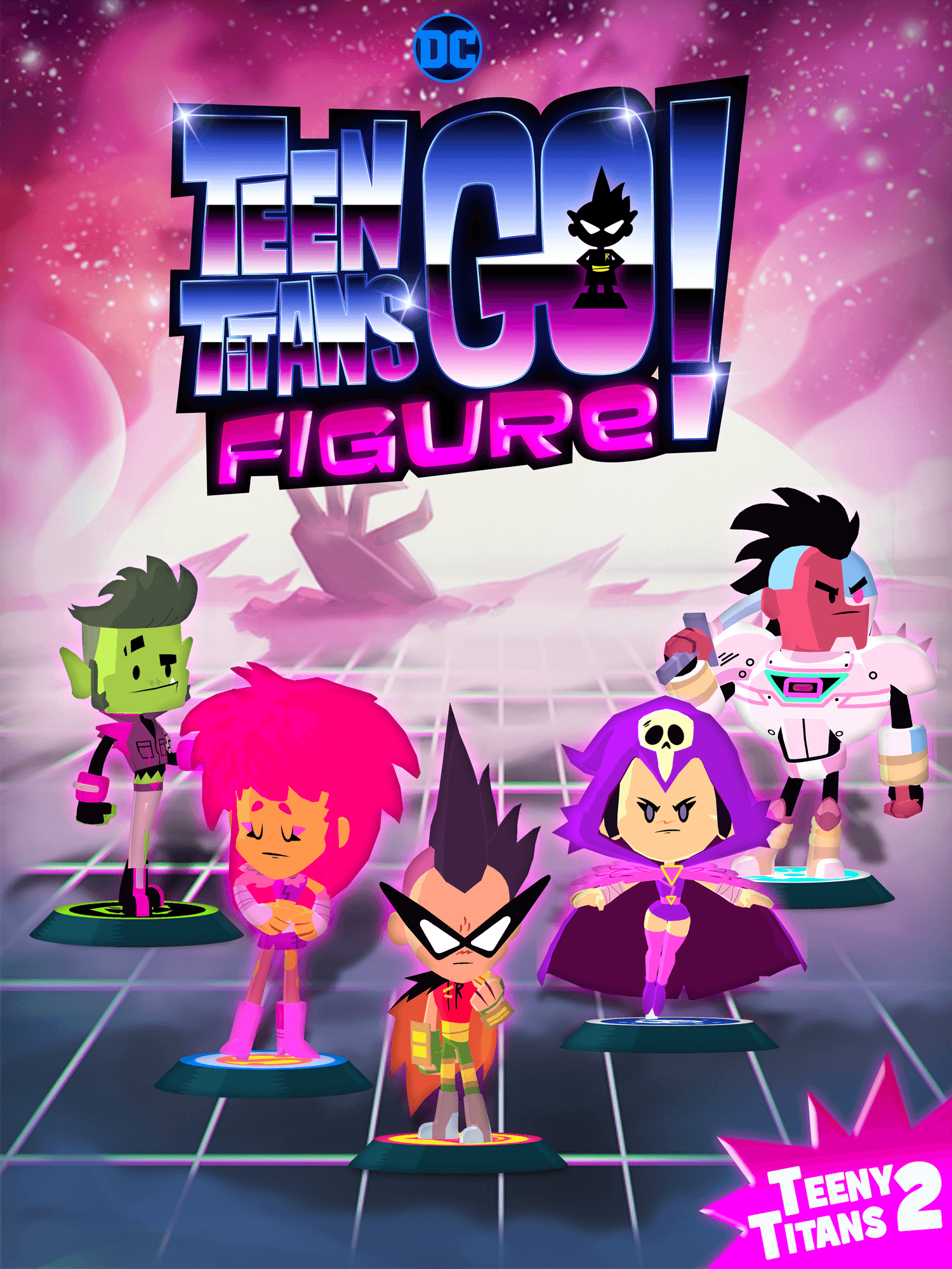 Teen Titans Go Figure Comes To Ios And Android This -7780