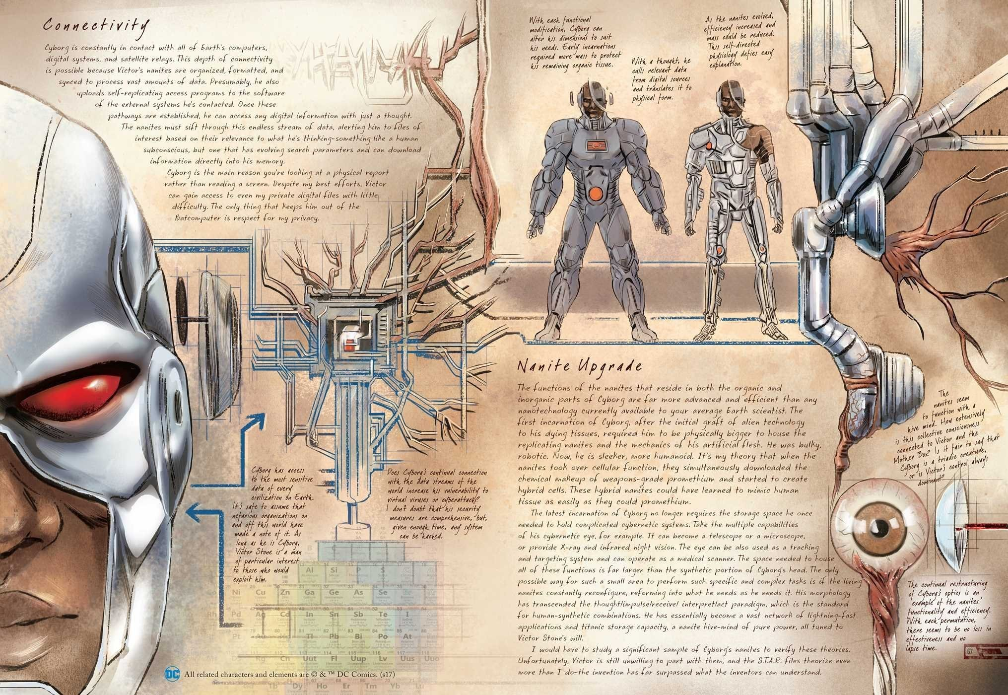 Advance Review: DC Comics: Anatomy of a Metahuman - Graphic Policy