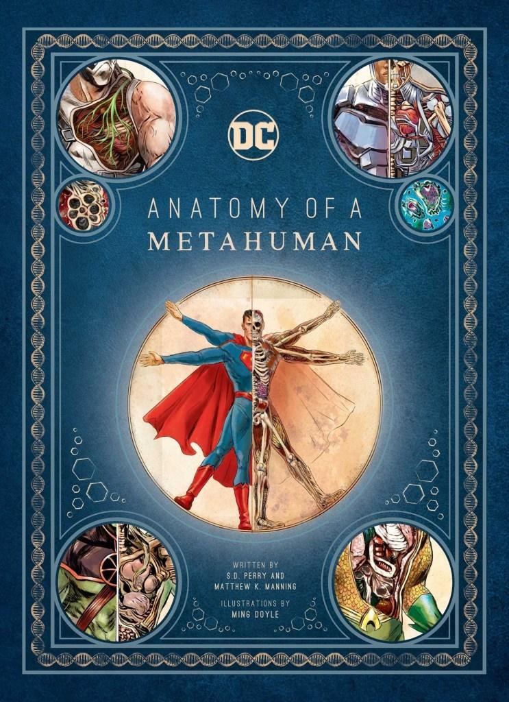 Advance Review: DC Comics: Anatomy of a Metahuman