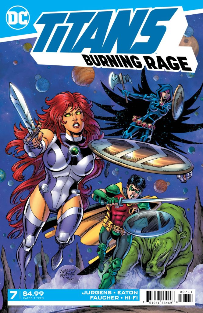 Preview: Titans: Burning Rage #7 (of 7) | Graphic Policy