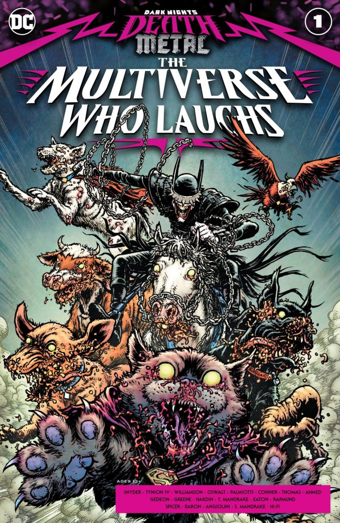 Dark Nights: Death Metal The Multiverse Who Laughs #1